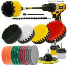 21Piece Drill Brush Attachment Set All Purpose Power Scrubber Cleaning Kit Home