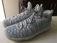 Nike Zoom KD 9 Limited Pre-Heat Wolf Grey Light Crimson 843396-090 Size 12