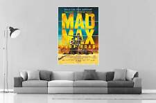 MAD MAX FURY ROAD AFFICHE CINEMA MOVIE Art Poster Grand format A0 Large