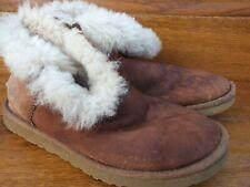 Ugg Bailey Button Sheepskin Ankle Boots Size UK 4.5 EU 37