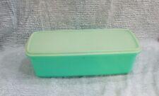 Vintage Tupperware Jadeite Green Celery Bread Keeper 3 pc 782 783 784 FREE S/H