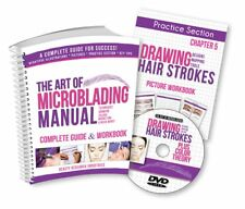 The Art of Microblading Manual & DVD Permanent Makeup Book Instructional Guide
