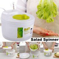Vegetable Salad Spinner Lettuce Dryer Washer Detachable Strainer Bowl