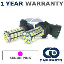 2X XENON PINK HB3 60 SMD LED DIPPED BEAM BULBS FOR FORD PUMA VOLVO C30 CADILLAC