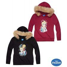 Frozen Anna & Elsa Kapuzenshirt Shirt Pullover   gr. 104 - 140  NEU