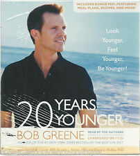 20 YEARS YOUNGER Audio BOOK New BOB GREENE Unabridged 7 CDs Fitness DIET Sealed