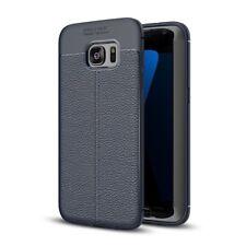 Funda protectora Móvil para Samsung Galaxy S7 cubierta marco estuche bumper azul