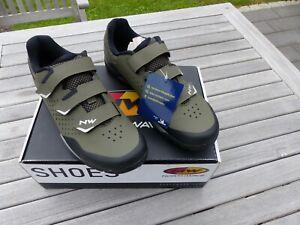 Northwave X-Trail MTB Schuhe Größe 43 Grün NEU TOP