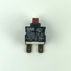 Bissell Lift Off 27F6 Deep Reach Cleaner Replacement Power Switch BAR 3292