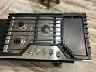 """Whirlpool WCG97US6DS 36"""" Stainless 5-Burner Gas Cooktop #1321 photo"""