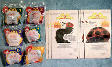 1996 Happy Meal Toys ERIC CARLE FINGER PUPPETS  Complete MINT Set (6) + 6 Bags