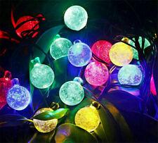20ft Led Solar String Fairy Lights Outdoor Garden Yard Decor Lamp ,Waterproof