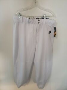 Demarini Fastpitch Softball Pants Womens Teamwear With Belt Loop XL White