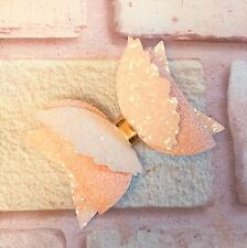 PLASTIC HAIR BOW TEMPLATE  3 INCH ANGEL WINGS