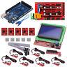 CNC 3D Printer Kit Mega 2560 R3+RAMPS 1.4 Controller+12864 LCD+ 5x A4988 Driver