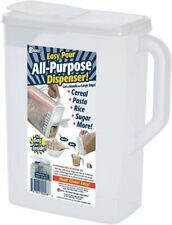 Dry Food Storage Container |8 Quart| Holder and Keeper for Cereal, Flour,...