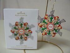 Hallmark Ornament 2011 SAVORY SNOWFLAKE Spatula NEW Kitchen Utensils Wreath