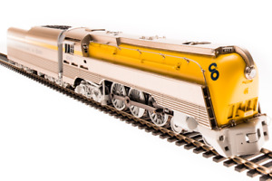 BLI 4555 Brass Hybrid C&O L-1 4-6-4 Older Yellow  #291 w/DCC/Sound/Smoke NIB