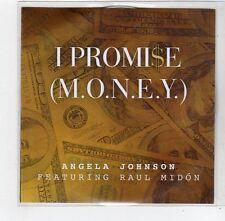 (FE479) I Promise (Money), Angela Johnson ft Raul Midon - 2014 DJ CD