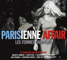 PARISIENNE AFFAIR -   LES FEMMES CHANTENT (NEW SEALED 3CD)