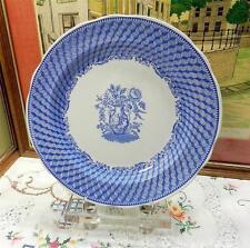 "THE SPODE BLUE ROOM COLLECTION PORTLAND VASE 10 1/2"" DINNER PLATE"
