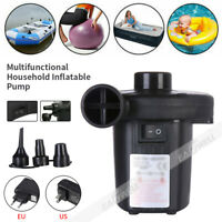 US/EU Plug Electric Air Pump for Inflatables Air Mattress Raft Bed Boat Pool Toy