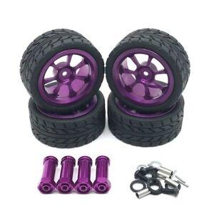 Wltoys 124018 124019 144001 A959 RC Car Alloy Rims Tires Wheels & Binders