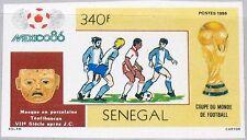 SENEGAL 1986 889 U Intl. World Fair Dakar Messer World Map Weltkarte Karte MNH