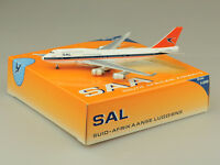 South African SAA B747-400 OC Bigbird scale 1:500 diecast models Free shipping!!