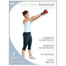 IRON CORE KETTLEBELL (DVD SET) Volumes 1 & 2, Warrior, Boot Camp workouts NEW