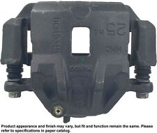 Disc Brake Caliper-Friction Choice Caliper with Bracket Front Left Reman