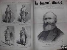 LE JOURNAL ILLUSTRE 1878 N 42  M. CHARLES GOUNOD