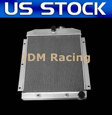 NEW 3 ROWS ALUMINUM RADIATOR FIT 1947-1954 CHEVY 3100/3600/3800 TRUCK PICKUP