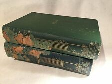 2 Volumes Proserpina and Hortus Inclusus by John Ruskin,  Dana Este & Co. Boston