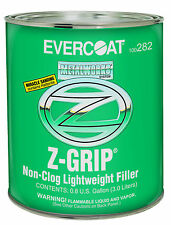 Evercoat 282 MetalWorks Z-Grip Non-Clog Lightweight Auto Body Filler - Gallon