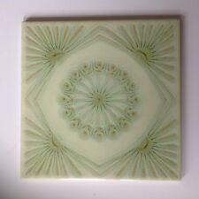 70er Jahre Kachel Pop-Art-Design blume, grün  vintagetile STEULER
