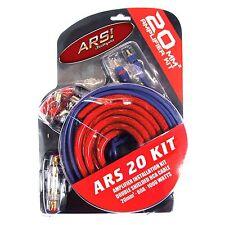 20mm² Auto/Carhifi Stromkabel/Kabel-Set für KFZ Verstärker bis 1000 Watt