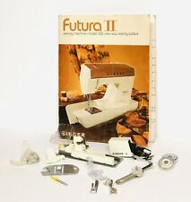Nos Singer Futura Sewing Machine Embroidery Attachments Accessories w/ Even Feed