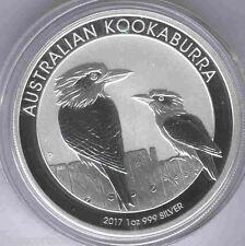 Australia 2017 1 dolar 1 onza plata pura Kookaburra