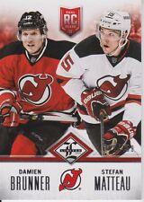 2012-13 Limited Rookie Redemption Devils #17 Brunner/Matteau /499