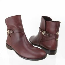Vero Cuoio Karma Women's Burgundy Shoes Booties Size 6.5 M NEW! RTL $350