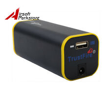 Portable TrustFire Power Bank External Battery Charger Case for 4*18650 Battery