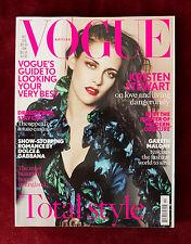 Vogue British ~ October 2012 ~ Kristen Stewart by Mario Testino