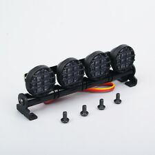Multi Function Alloy Bright LED Light Bar For HSP 1/10 1/8 RC Car AX-506W White