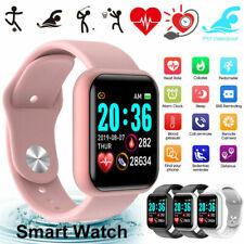 Водонепроницаемая Bluetooth Smart часы телефон мат для iPhone iOS Android Samsung Lg B