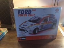 2001 Bburago  1/18 Ford Focus Rally Metal Kit Rare