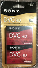 2 PACK! Sony DVC HD 63 Minutes (LP 94) HD DVC Tape Sealed