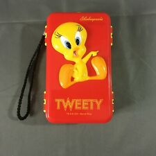 2001 Fishing Tackle Box Childs Looney Tunes Shakespeare Tweety Bird