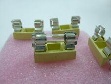 50 Stück/ 50pcs SICHERUNGSHALTER Feinsicherung  5x20mm FUSEHOLDER FOR PCB  NEW *