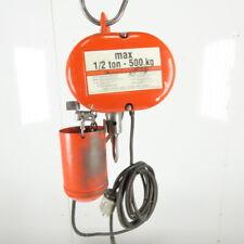 Cm Lodestar Model F 12 Ton Electric Chain Hoist 10 Lift 16fpm 208 230460v 3ph